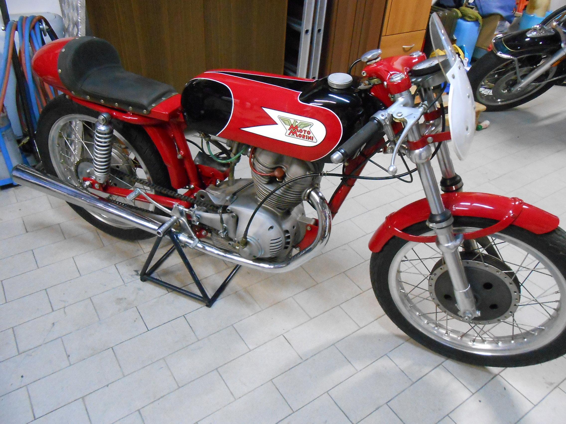 Moto Morini 175 Settebello Agostini