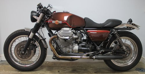 1981 Moto Guzzi 1000 Cafe Racer Superbly Executed  SOLD (picture 5 of 6)