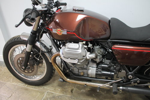 1981 Moto Guzzi 1000 Cafe Racer Superbly Executed  SOLD (picture 6 of 6)