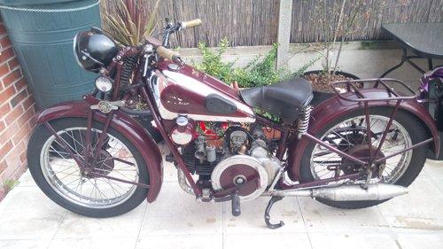 1934 moto guzzi sport 15 500cc For Sale (picture 1 of 6)
