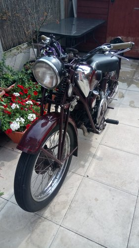 1934 moto guzzi sport 15 500cc For Sale (picture 3 of 6)