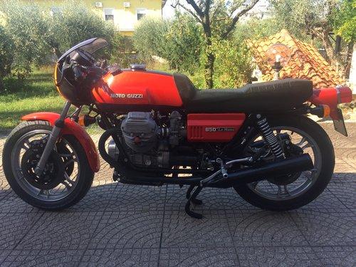 1976 Moto Guzzi Lemans 850 1st model For Sale (picture 1 of 5)