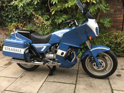 1999 Moto Guzzi 850 T5 PA Ex Italian Police, Fully Restored For Sale (picture 1 of 6)