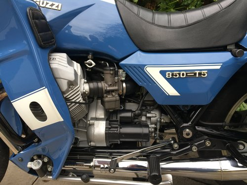 1999 Moto Guzzi 850 T5 PA Ex Italian Police, Fully Restored For Sale (picture 5 of 6)