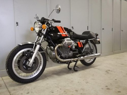 1975 Moto Guzzi V7 750 S For Sale (picture 2 of 6)