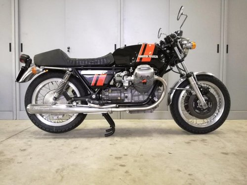 1975 Moto Guzzi V7 750 S For Sale (picture 4 of 6)