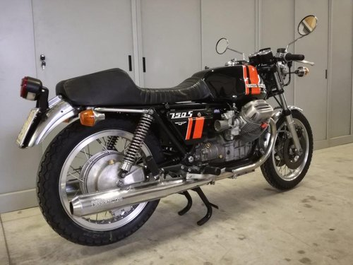 1975 Moto Guzzi V7 750 S For Sale (picture 6 of 6)