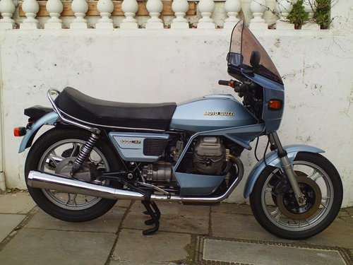 1982 MOTO GUZZI SP1000 SALE !!!! SOLD (picture 1 of 6)