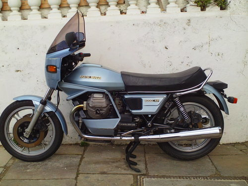 1982 MOTO GUZZI SP1000 SALE !!!! SOLD (picture 3 of 6)
