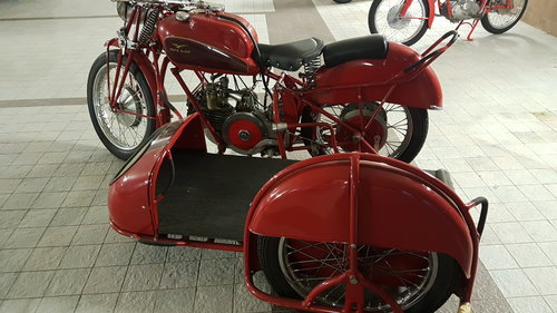 1946 Moto Guzzi Condor sidecar For Sale (picture 1 of 6)
