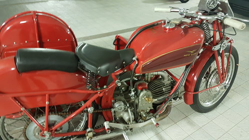 1946 Moto Guzzi Condor sidecar For Sale (picture 3 of 6)
