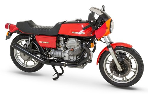 1976 Moto Guzzi Le Mans 1 - Original - One Owner For Sale (picture 1 of 6)