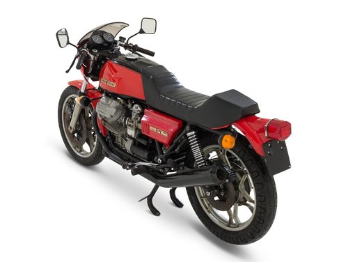 1976 Moto Guzzi Le Mans 1 - Original - One Owner - Free Shipping For Sale (picture 3 of 6)