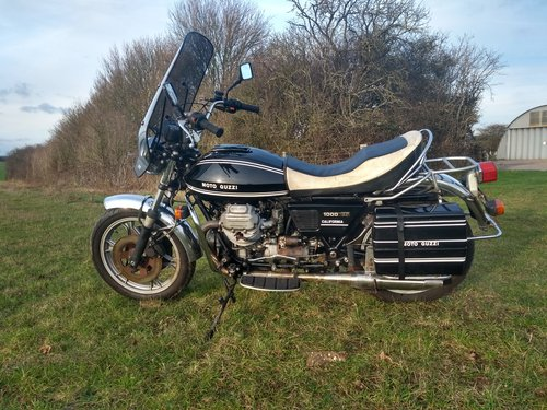 Moto Guzzi T3 CALIFORNIA 1980 For Sale (picture 1 of 5)