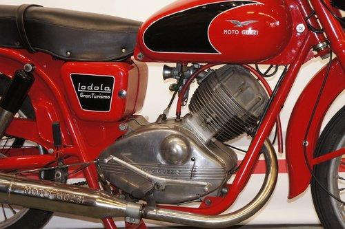 1957 Moto Guzzi Lodola 175 sport OHC For Sale (picture 5 of 6)