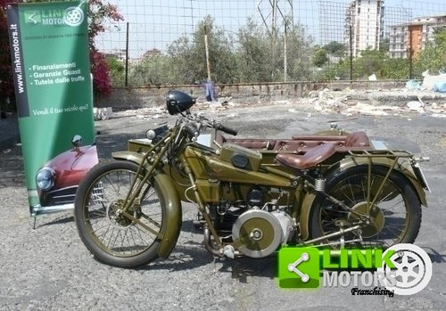 1928 Guzzi 500 Sport - Sidecar ASI For Sale (picture 2 of 6)