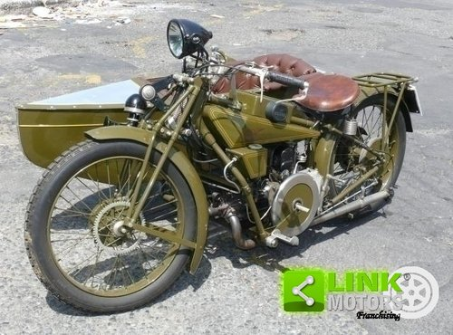 1928 Guzzi 500 Sport - Sidecar ASI For Sale (picture 3 of 6)