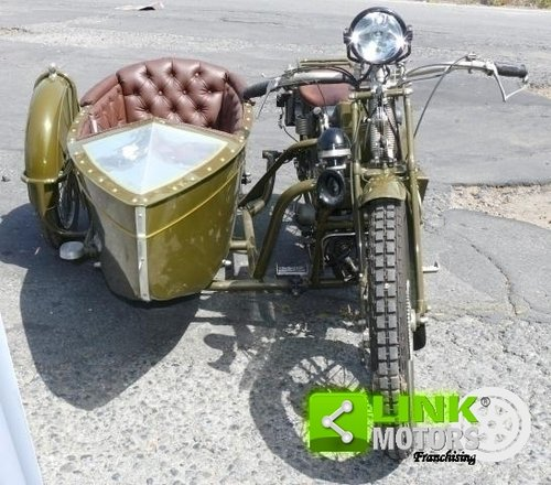 1928 Guzzi 500 Sport - Sidecar ASI For Sale (picture 4 of 6)