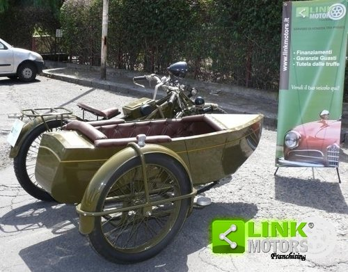 1928 Guzzi 500 Sport - Sidecar ASI For Sale (picture 6 of 6)