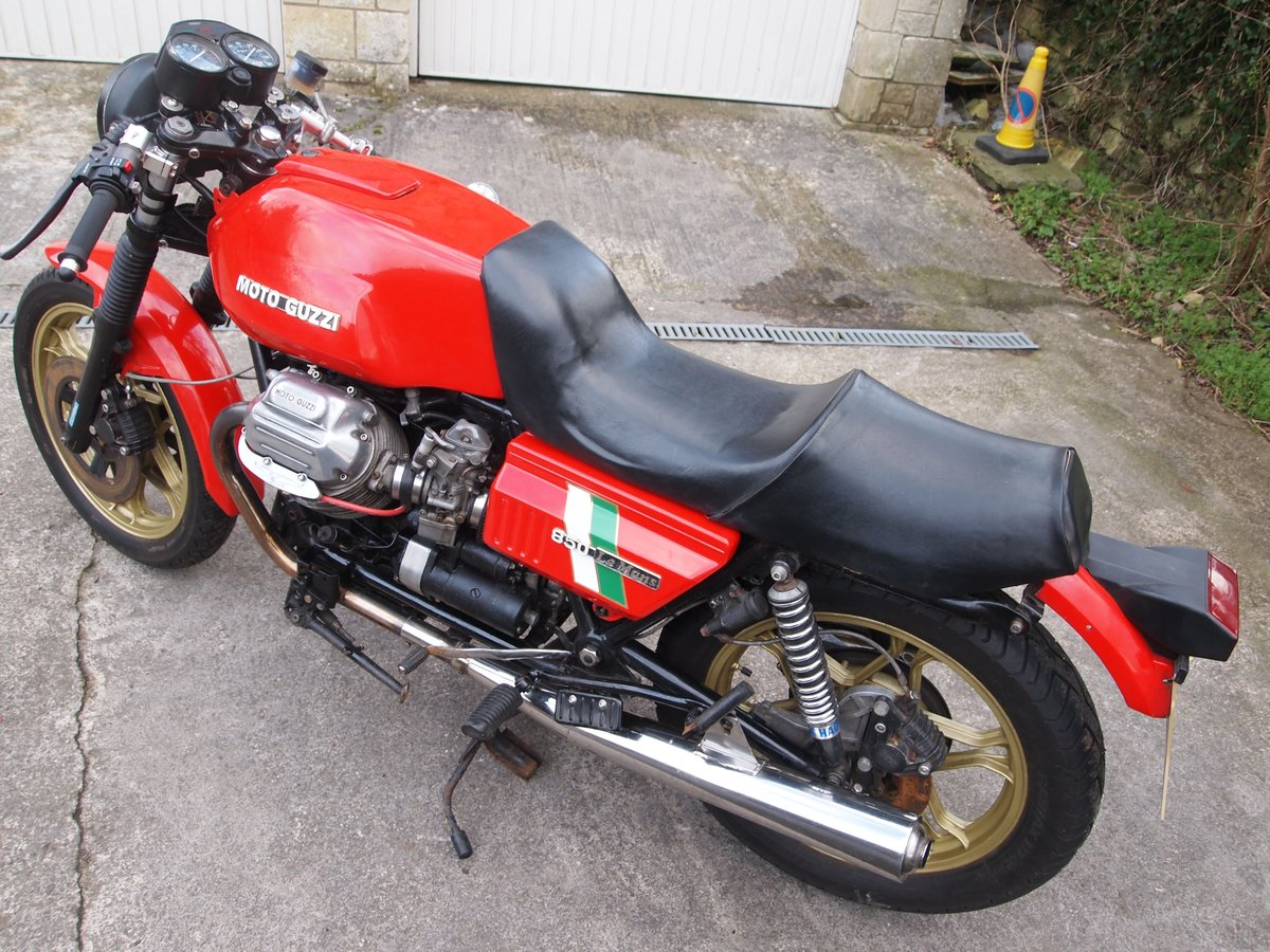 1980 MOTO GUZZI LE MANS MK1 REPLICA SOLD (picture 1 of 6)