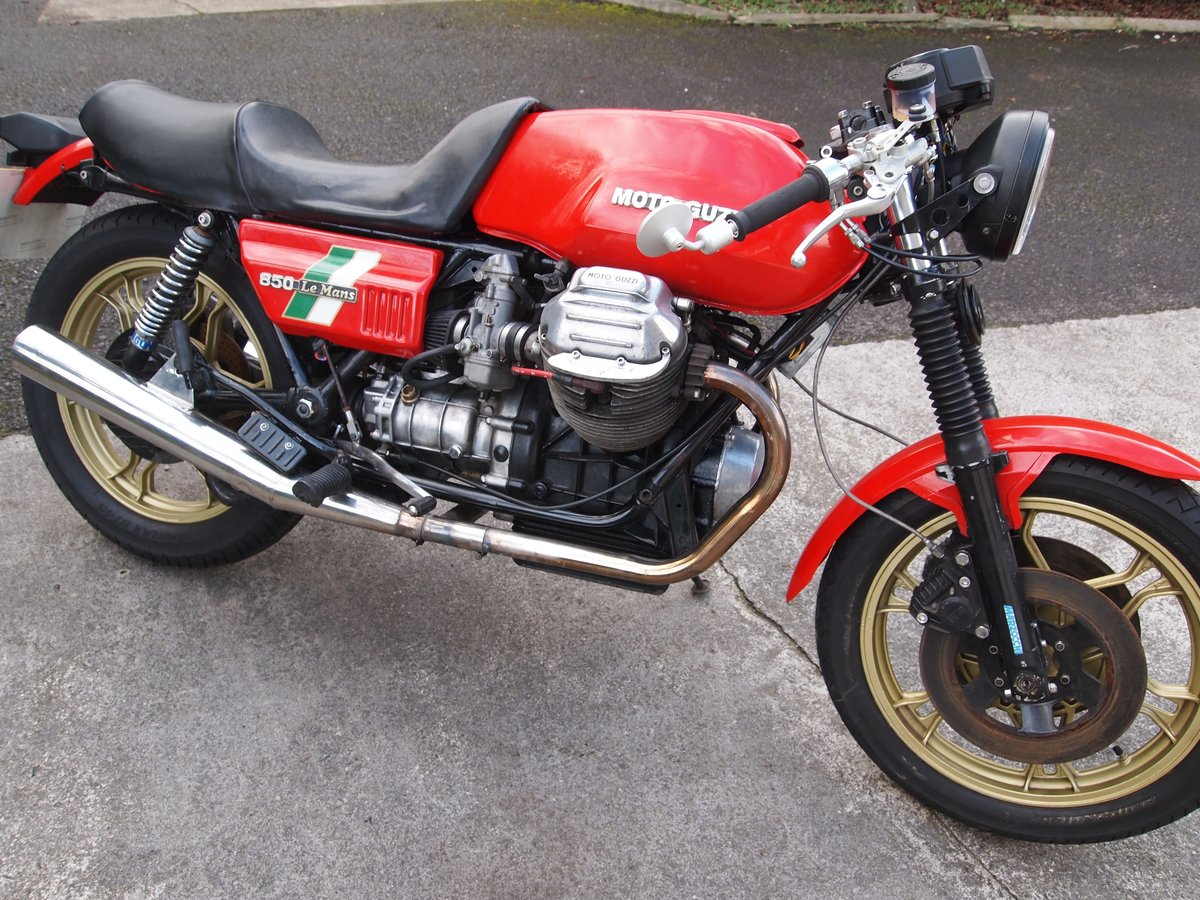 1980 MOTO GUZZI LE MANS MK1 REPLICA SOLD (picture 3 of 6)