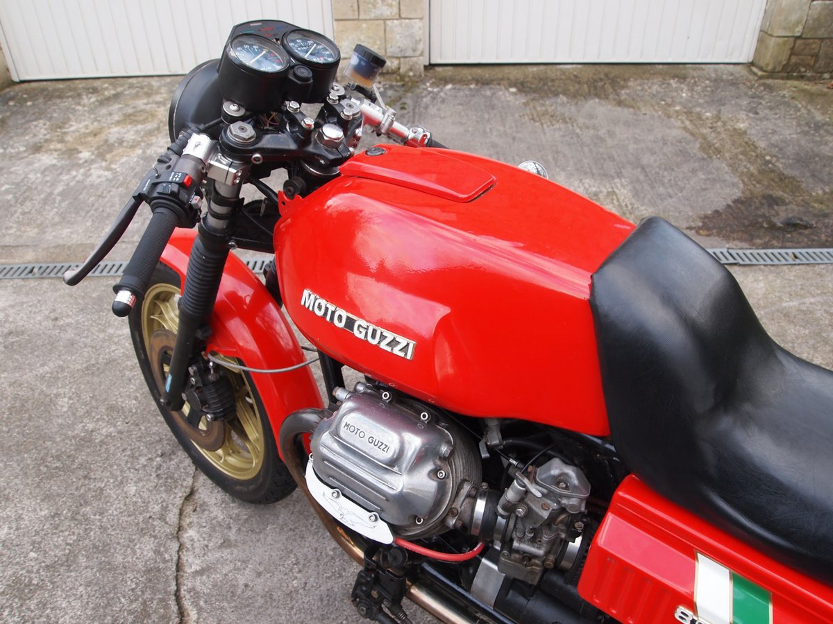 1980 MOTO GUZZI LE MANS MK1 REPLICA SOLD (picture 5 of 6)