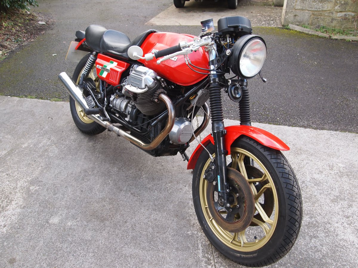 1980 MOTO GUZZI LE MANS MK1 REPLICA SOLD (picture 6 of 6)