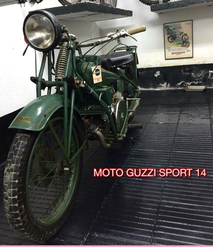 1928 Moto Guzzi Sport 14 500cc For Sale (picture 1 of 4)
