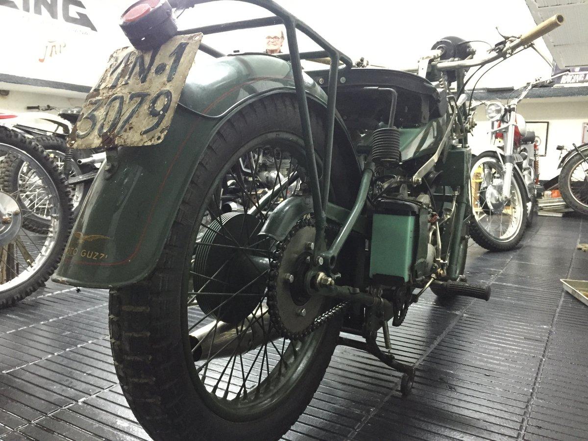 1928 Moto Guzzi Sport 14 500cc For Sale (picture 4 of 4)