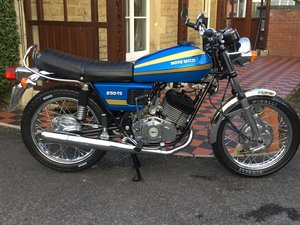 1975 1974 MOTO GUZZI 250TS. MUSEUM STANDARD! For Sale