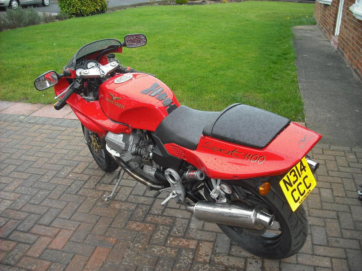 1995 Moto Guzzi SOLD (picture 1 of 4)