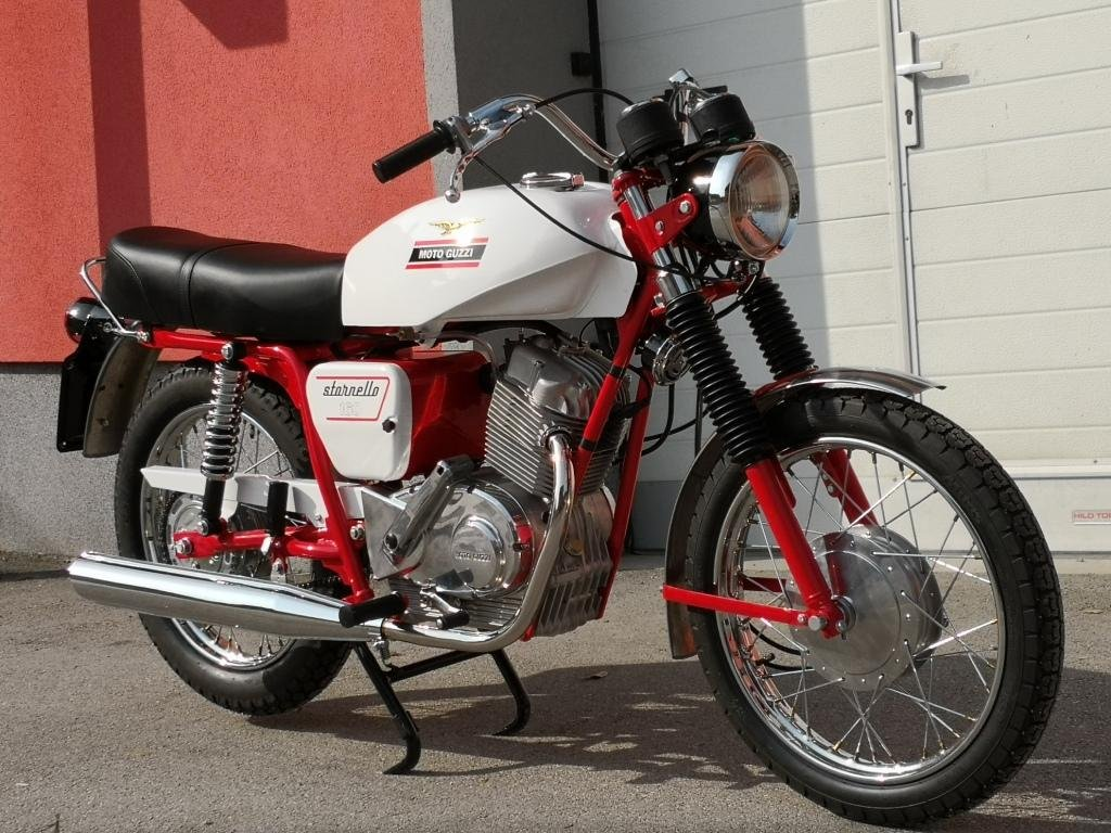 1971 MOTO GUZZI STORNELLO 160 5M -CONCOURSE CONDITION For Sale (picture 1 of 6)