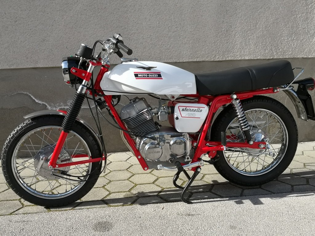 1971 MOTO GUZZI STORNELLO 160 5M -CONCOURSE CONDITION For Sale (picture 3 of 6)