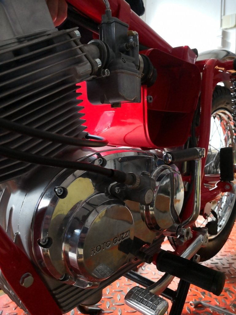 1971 MOTO GUZZI STORNELLO 160 5M -CONCOURSE CONDITION For Sale (picture 4 of 6)