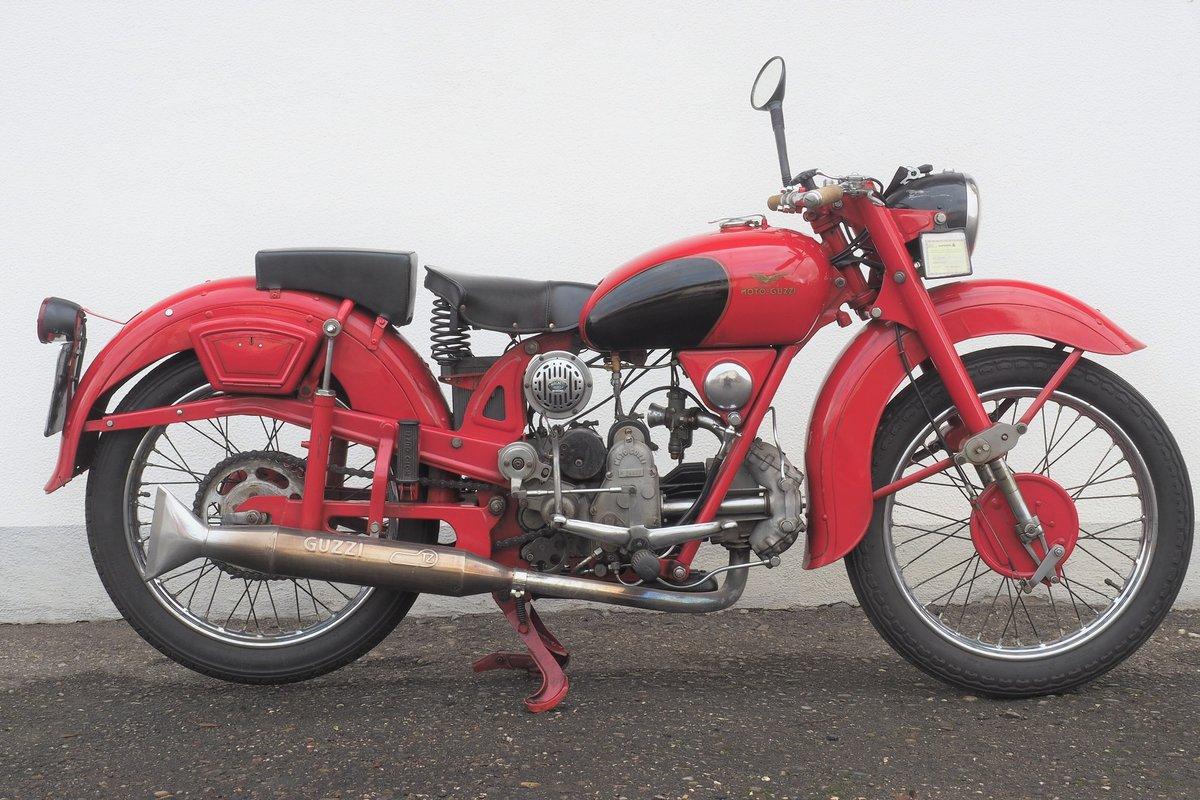 1947 Moto Guzzi Airone 250  SOLD (picture 1 of 6)