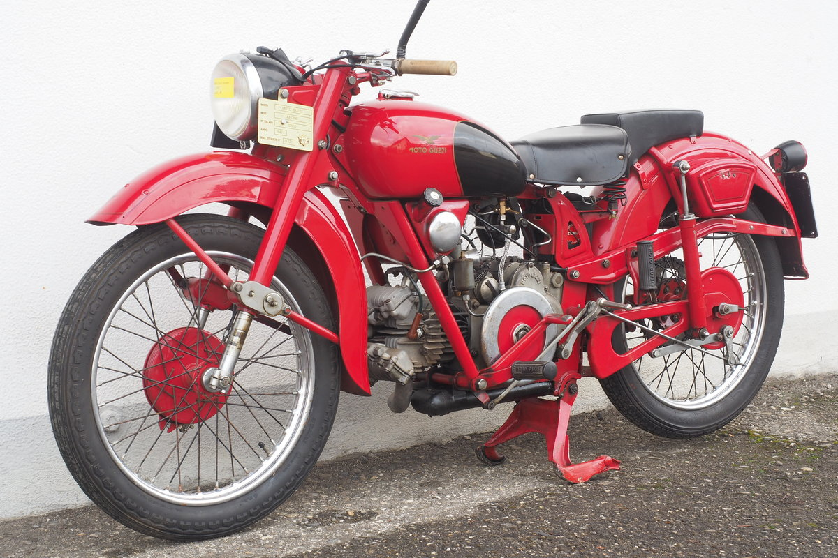 1947 Moto Guzzi Airone 250  SOLD (picture 2 of 6)