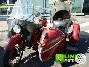 Moto Guzzi GTV 500 1938 con SIDECAR Tittarelli 1949 For Sale