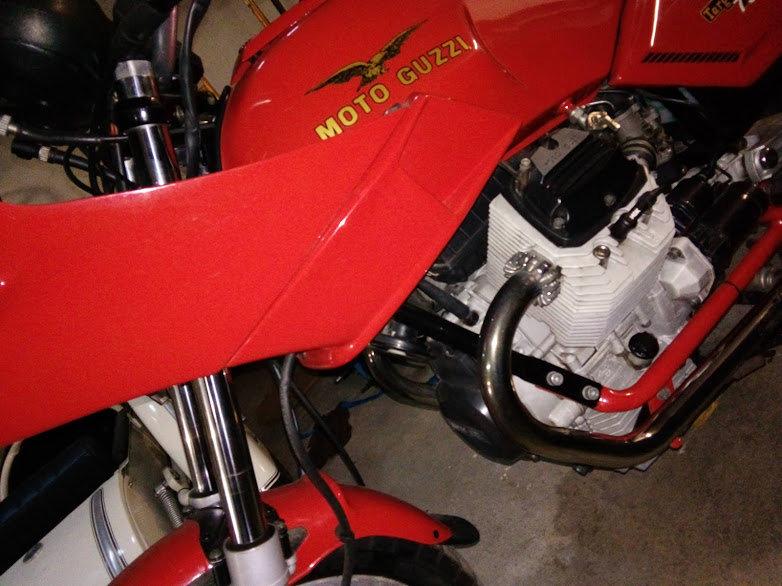 1993 Moto Guzzi 750 Targa For Sale (picture 2 of 6)