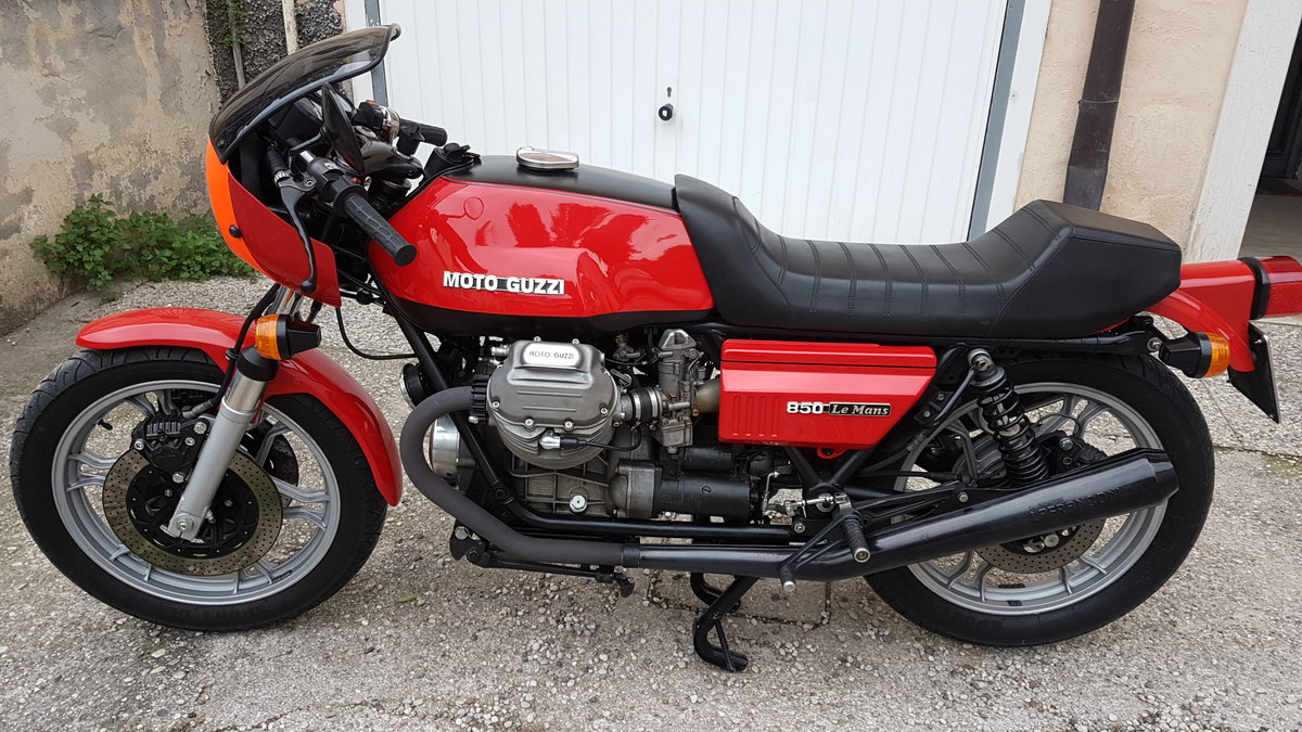 1977 Moto Guzzi  850 Le Mans 1 For Sale (picture 2 of 6)