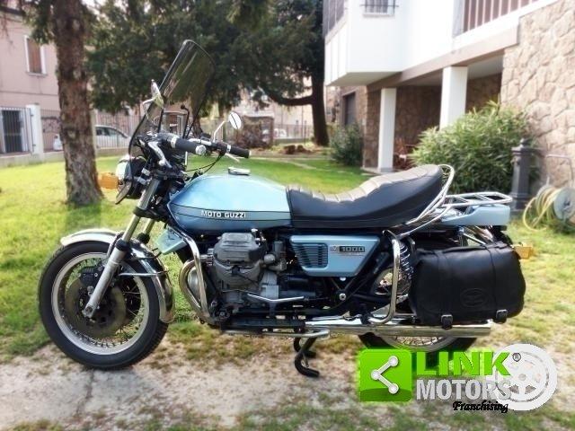 1976 MOTO GUZZI 1000 CONVERT PRIMA SERIE '76 For Sale (picture 1 of 6)