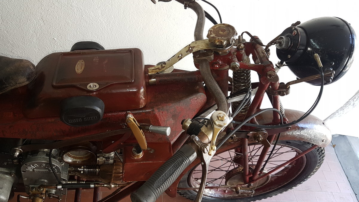 1930 Moto Guzzi Sport 14 For Sale (picture 5 of 6)