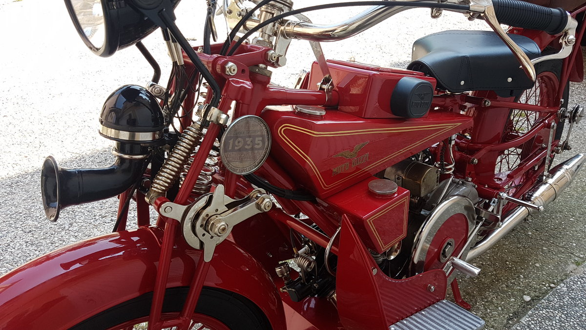 1928 Moto Guzzi GT NORGE For Sale (picture 5 of 6)