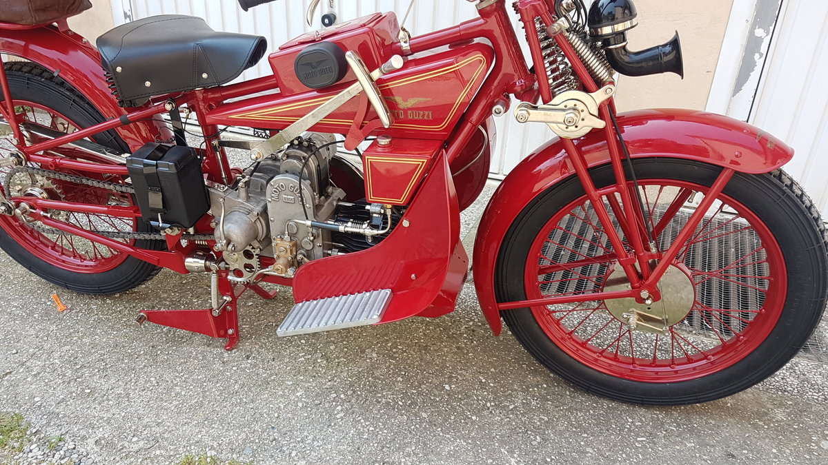1928 Moto Guzzi GT NORGE For Sale (picture 1 of 6)