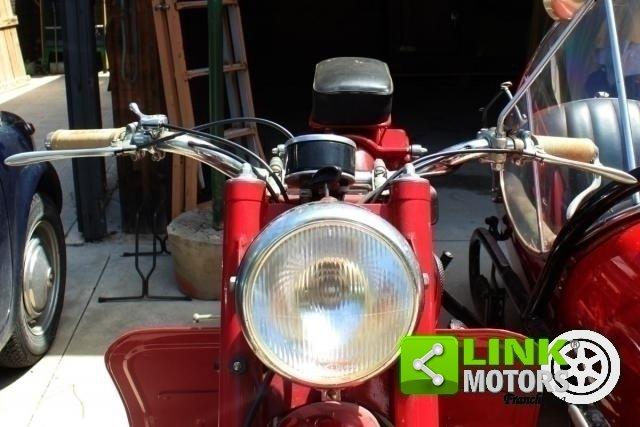 Moto Guzzi Astore Side del 1950, Targa Oro ASI, Totalmente  For Sale (picture 2 of 6)