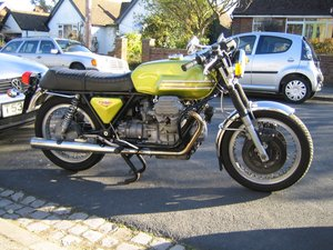 1975 Moto Guzzi V7 Sport replica (T3) cafe racer For Sale