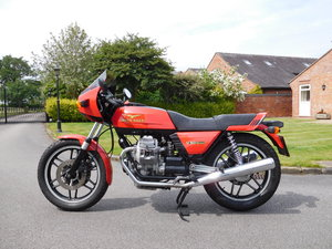 1981 Moto Guzzi V5 Monza - UK - 8,900 Miles For Sale