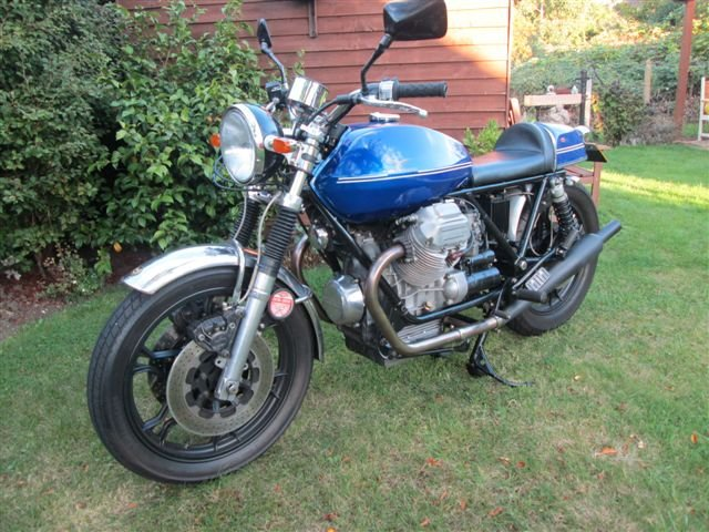 1978 Moto Guzzi 950 Street Tracker- Price Reduced For Sale (picture 1 of 4)