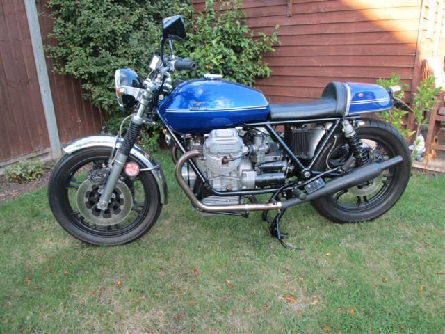 1978 Moto Guzzi 950 Street Tracker- Price Reduced For Sale (picture 3 of 4)