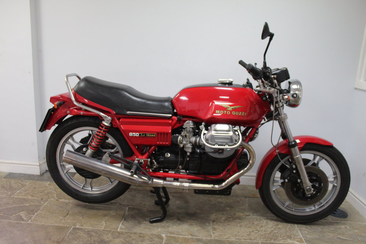 1981 Moto Guzzi MK11 Le Mans 850 cc Ex South African  SOLD (picture 1 of 6)