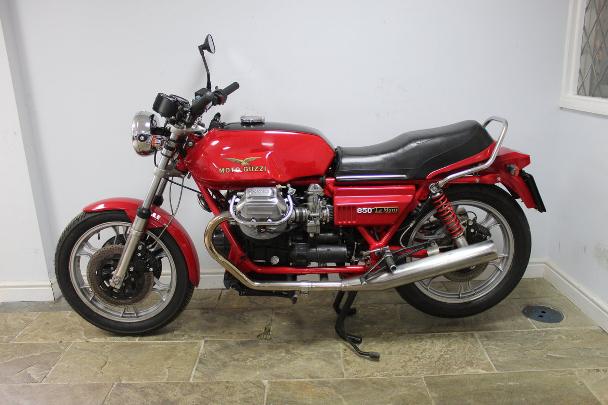 1981 Moto Guzzi MK11 Le Mans 850 cc Ex South African  SOLD (picture 4 of 6)